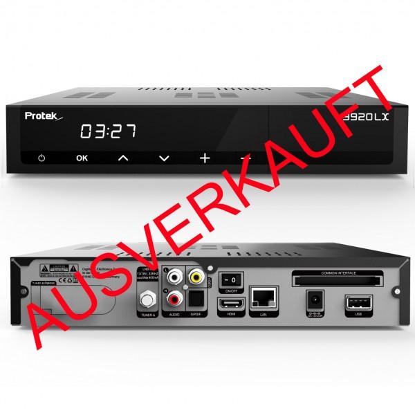 Protek 9920 LX HD HEVC265 E2 Linux HDTV